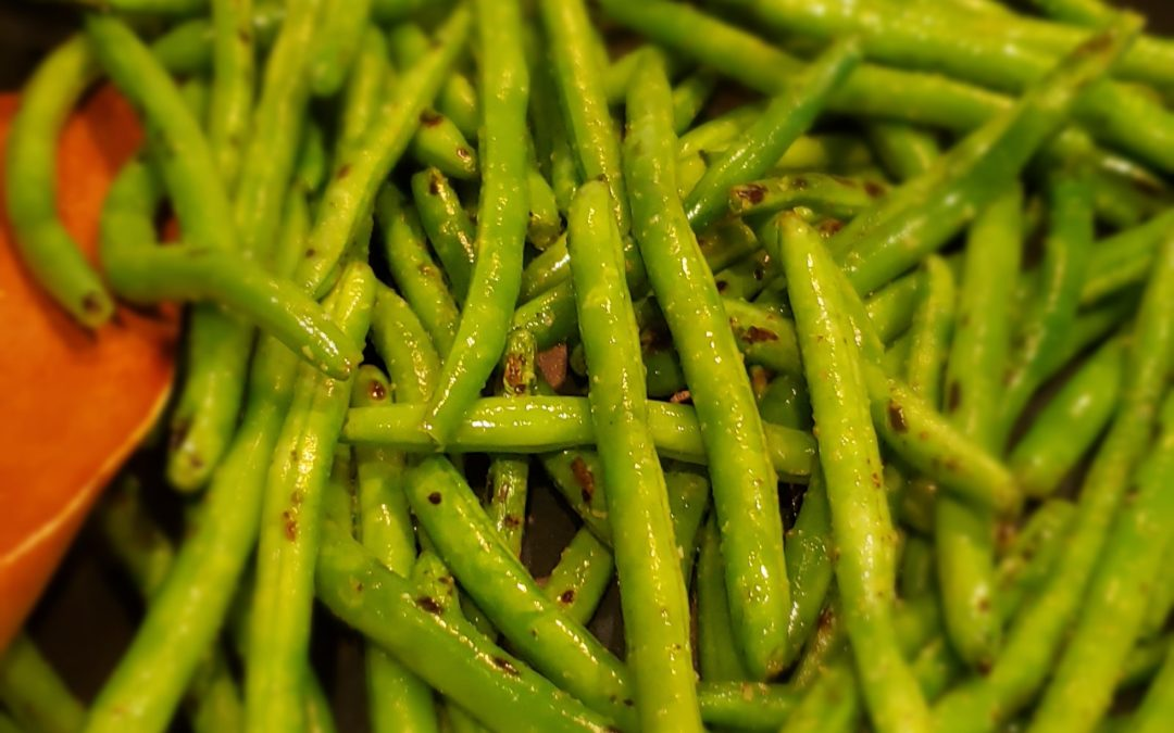 Garlic-Butter Green Beans