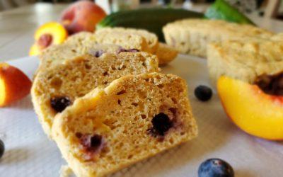 Peach Berry Zucchini Bread