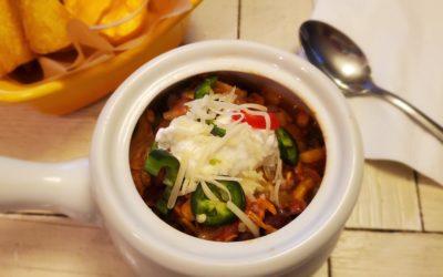 3-Bean Mexican Chicken Chili